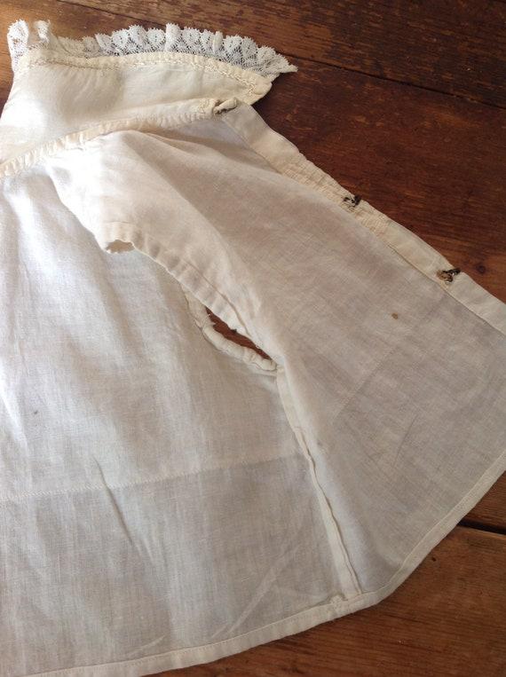 antique Victorian little boy's silk blouse 1880s - image 5