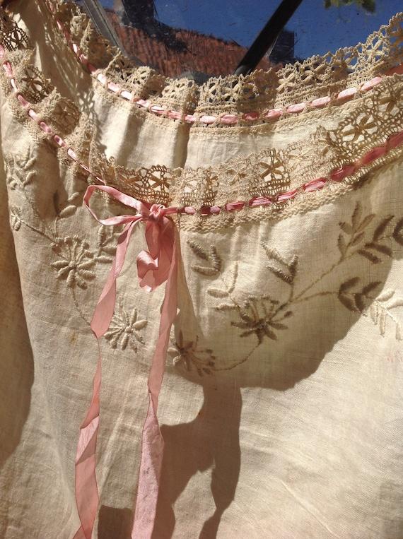 antique victorian camisole