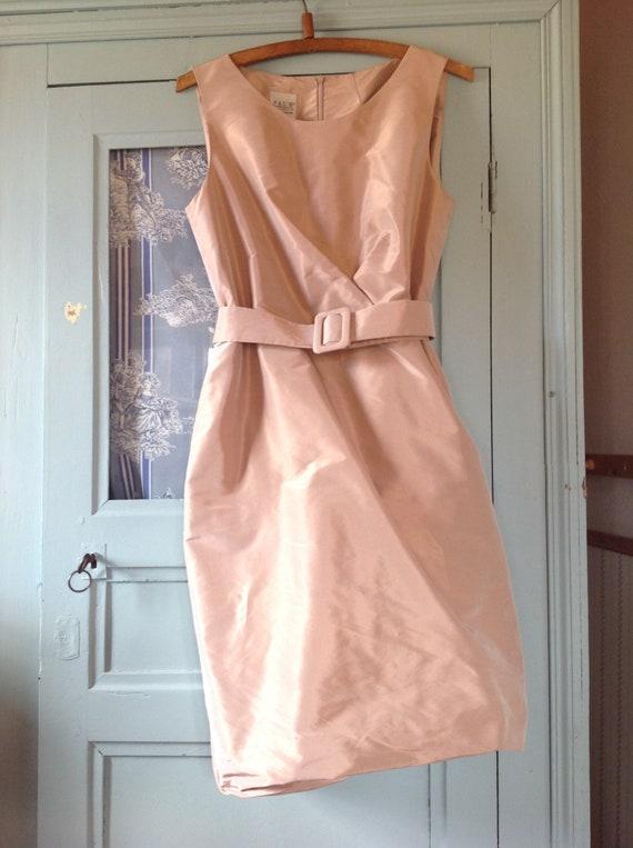 vintage pure silk wedding dress haute couture