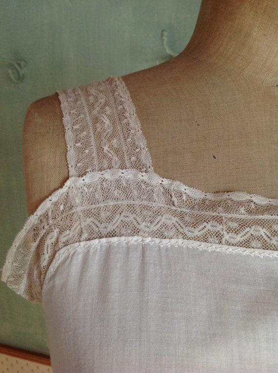 antique victorian edwardian corset cover camisole - image 4