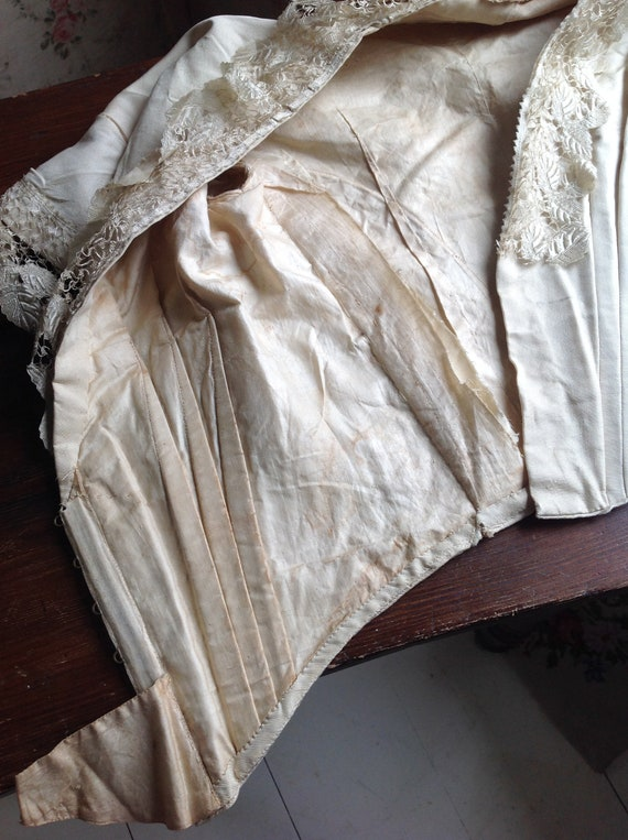 excellent bodice from the 1890s, belle epoque - image 5