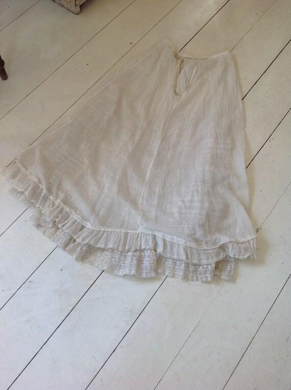 floral skirt , cotton print muslin summer skirt, … - image 10
