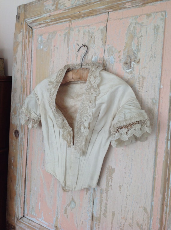 excellent bodice from the 1890s, belle epoque - image 3