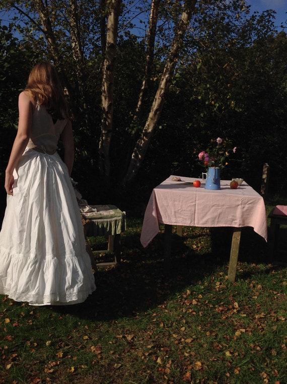 vintage petticoat with adjustable waist