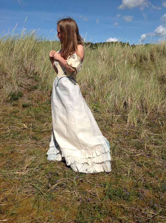 antique ball gown bodice,