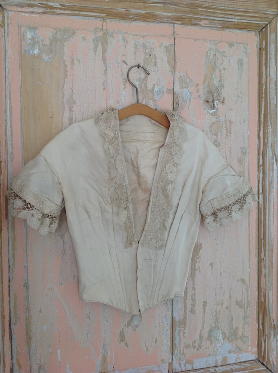 excellent bodice from the 1890s, belle epoque - image 4