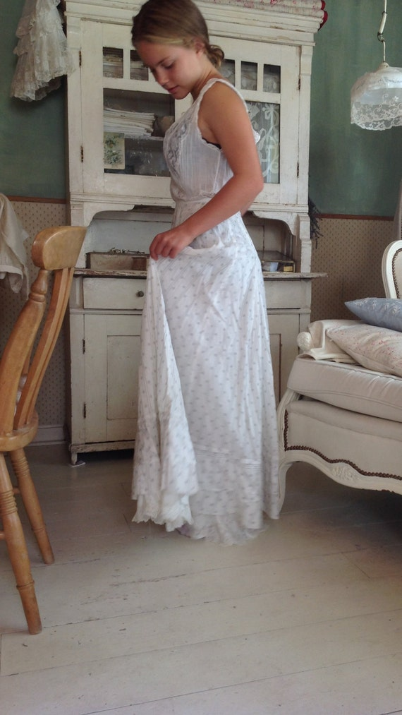 victorian calico skirt
