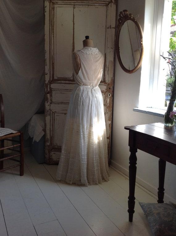 floral skirt , cotton print muslin summer skirt, … - image 2