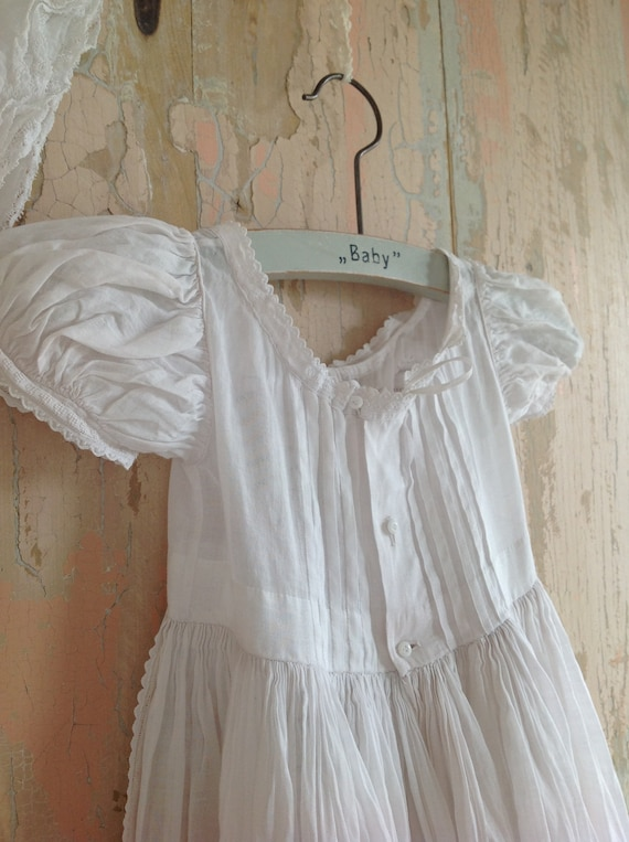 Baby summer dress Christening gown Retro Childrens Clothes Baptism dress FREE SHIPPING Vintage baby dress Antique Baby Dress