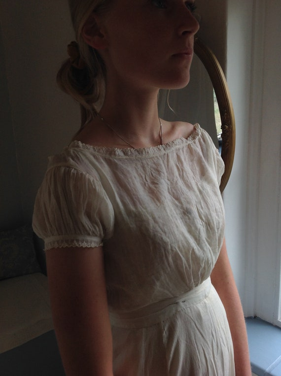 regency  (style?) antique camisole and petticoat s