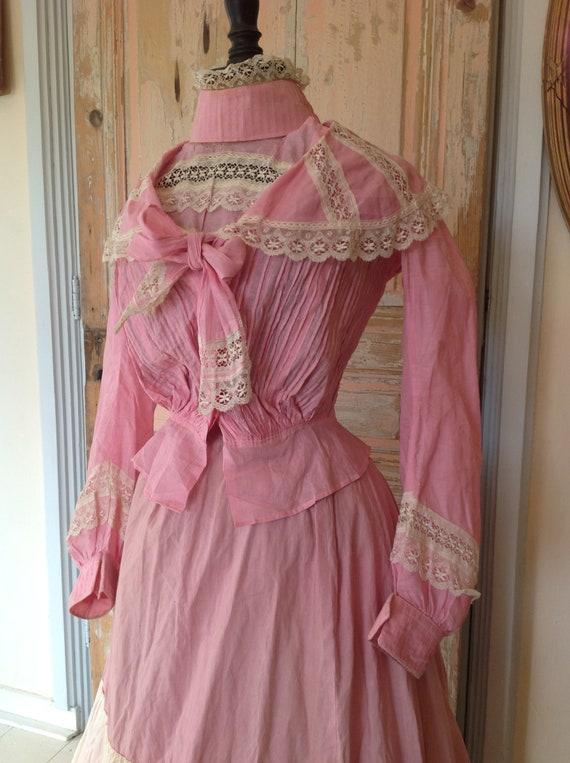 antique bodice blouse 1890s