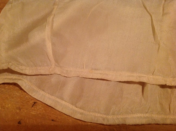 beautiful antique edwardian silk and lace camisol… - image 10