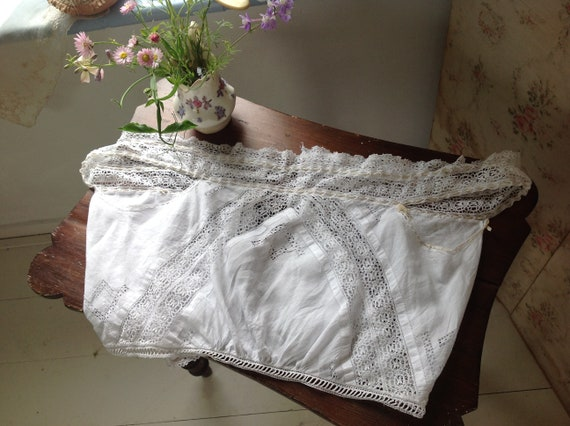 fine linen and lace camisole - image 10