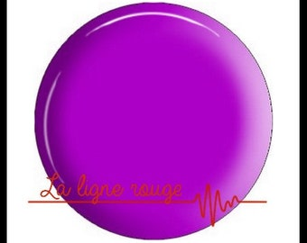 resin cabochon with or without support, or glass, silver or bronze, purple plain pattern (2778)