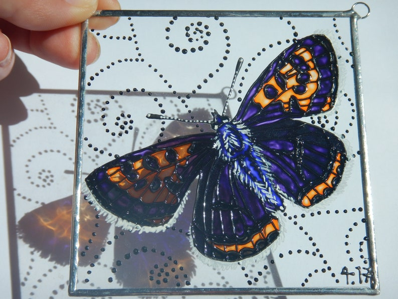 Suncatcher Purple-shot Copper
