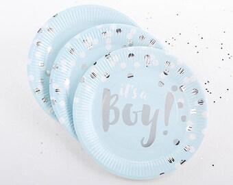 Baby Shower Plates   Etsy