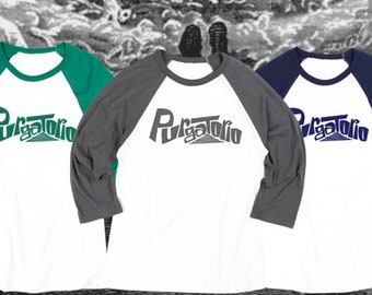 Team Purgatorio: Baseball Tee with Custom Back