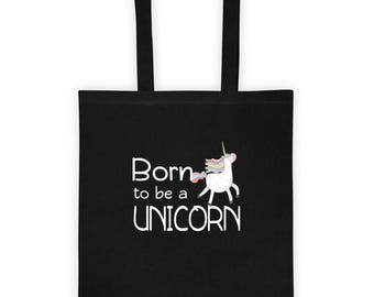 Born To Be A Unicorn Tote bag