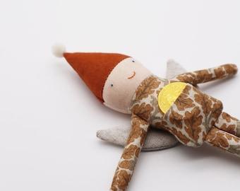 Woodland fairy doll / tooth fairy gift / elf / pixie / Christmas decoration / guardian angel /Autumn