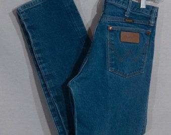 Vintage 1980/'s Wrangler Dark Denim Boot Cut Jean Men/'s 32 x 30.5 USA