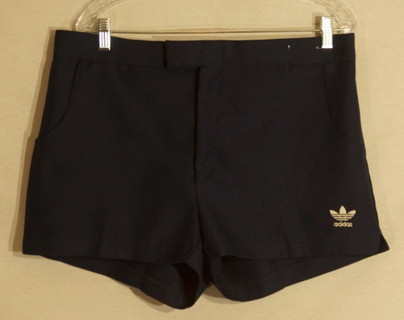 1970's Tennis Shorts Vintage Adidas Label Gym Athl