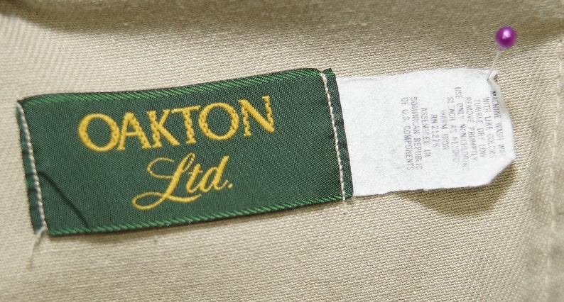1970/'s Board Shorts Vintage Surfer Leisure Wear Snaps Oakton Ltd Label 36 Waist