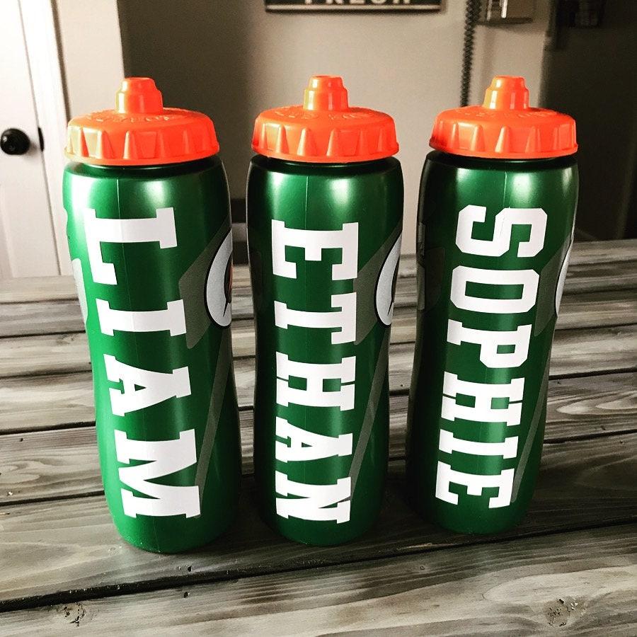 Water Bottle Personalised: Personalized Sports Water Bottle 32oz Gatorade Water
