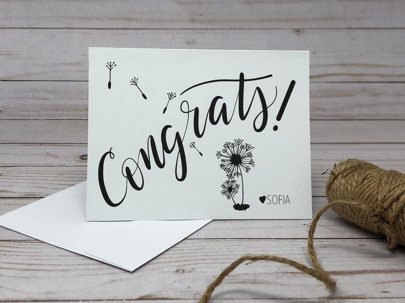 Congratulations Cards Custom Congrats Card Cards for Any Occasion Congrats Cards Pack of Cards