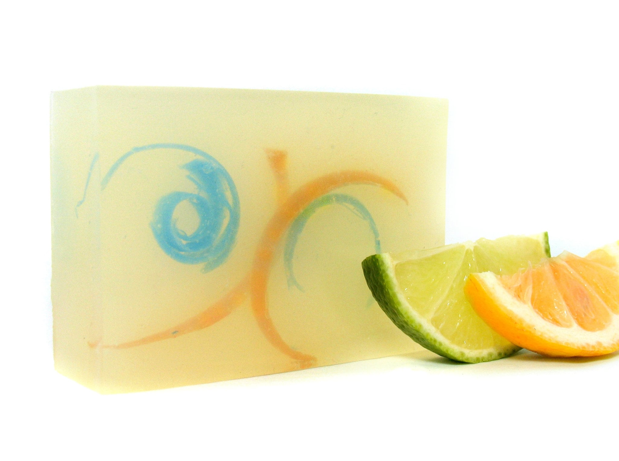 Citrus Soap - Clear Gift Soaps - Soap For Her - Coconut Soap - Dry Skin  Soap - Soap For Dry Skin - Vegan Bar Soap - Citrus Whirl