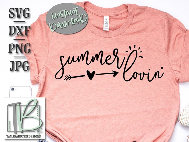 Summer Svg, Summer Lovin' Svg, Beach Svg, Hello Summer Svg, Vacation Svg,  Summer Time Svg, Instant Download, Svg, Dxf, Png, Jpg