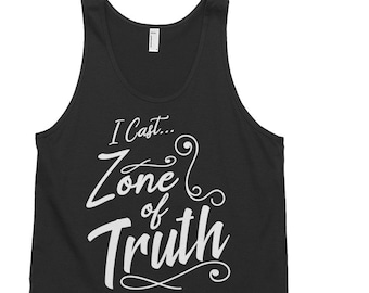 1fddbfaf82ed78 The Adventure Zone Tank Top   Merle Highchurch   TAZ Tank Tops   Zone of  Truth Tank-top   DND Tanktops   Dungeons and Dragons Tanks