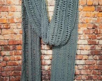 Hairpin scarf
