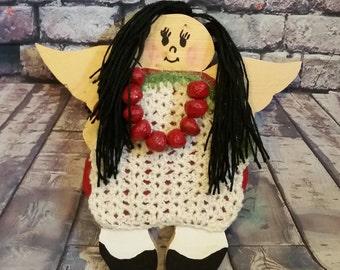 Door Hanger Angel,Gift for children, Protective,Handmade