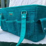 Design your own Oslo bag, custom made-to-order craft tote, divided tote
