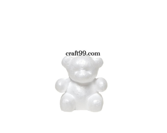 Foam Bear Mold-DIY Foam Rose Bear Party Gift.