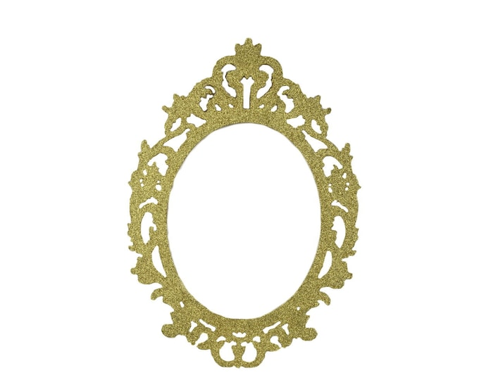 Oval Picture Frame Fancy Laser Cut Oval Photo Frames