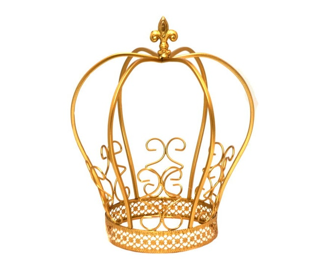 Gold Metal Crown-Baby Shower-Party Decorations.
