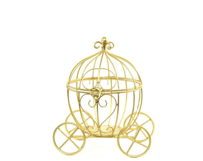 Wire Carriage Card Holder-Party Decorations.