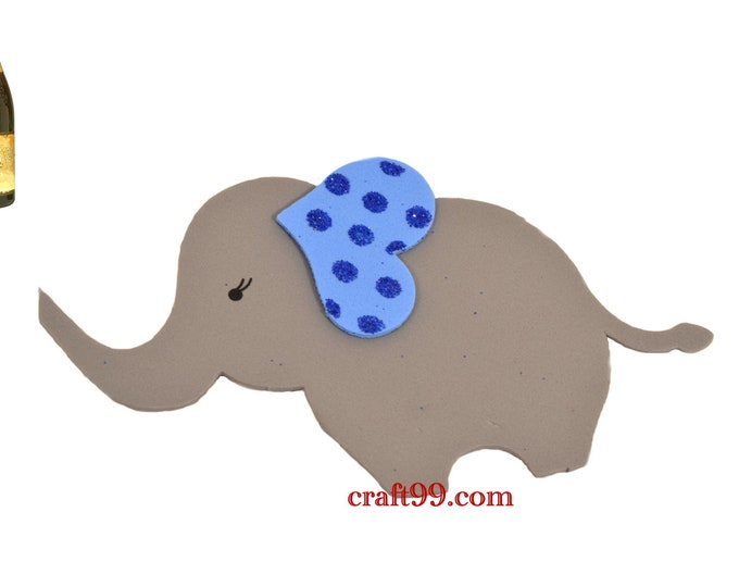 Adorable Elephant Foam Cut Out Backdrop Banner Wall Decor.