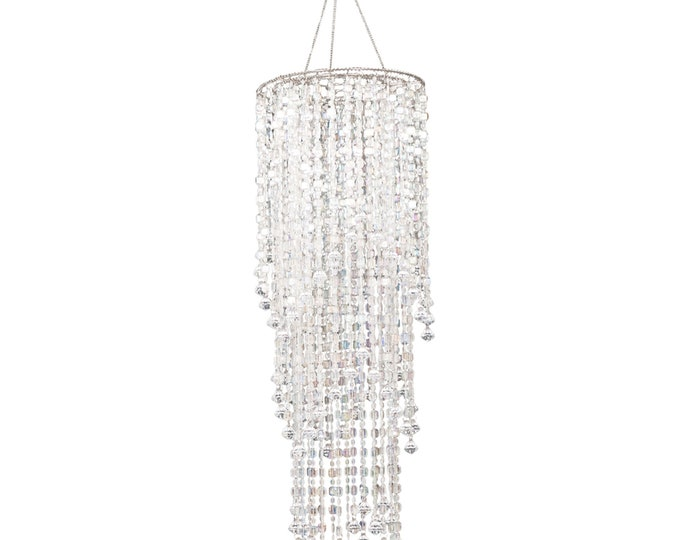 Chandelier Party Decoration-3 Tier Crystal Chandelier Decor.