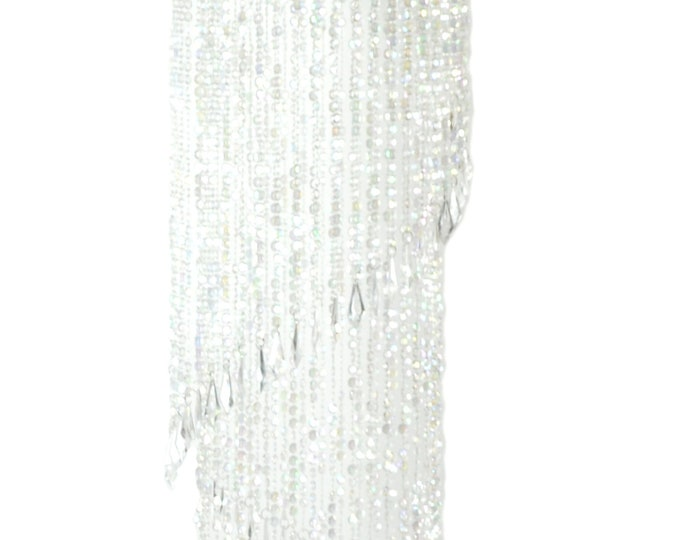 Chandelier Party Decoration-Acrylic Spiral Chandelier Decor.