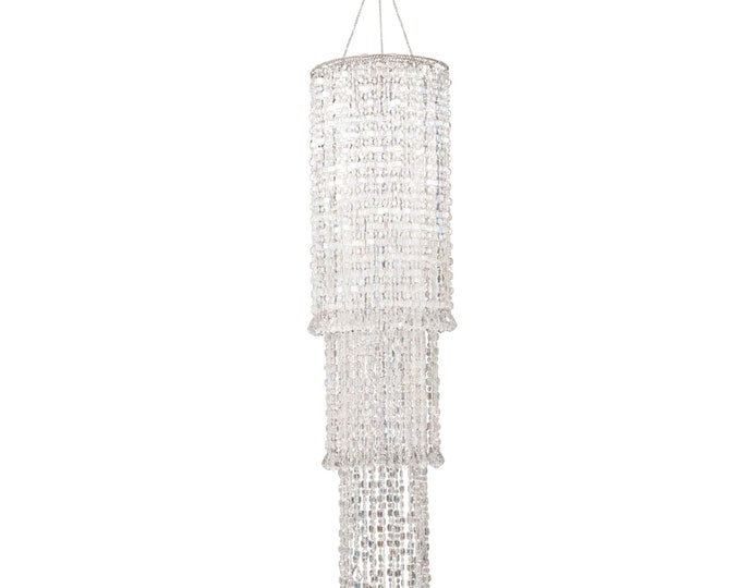 Chandelier Party Decoration-3 Tier Acrylic Chandelier Decor.