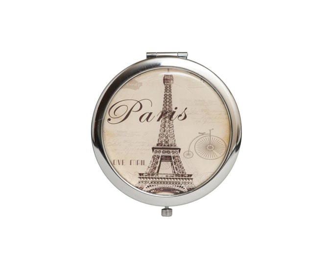 Compact Mirror Eiffel Tower Party Favors