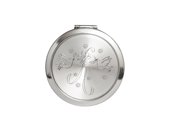 Compact Mirror Wedding Party Gift .