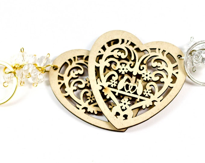 Wedding Favors Heart Shaped Keychains