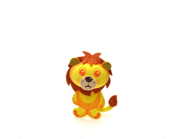 Lion 3D-Glitter Foam-Party Favors. M - S
