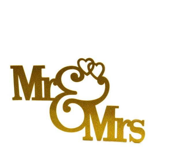 Mr and Mrs Banner-Wedding Decorations. 23 Inches