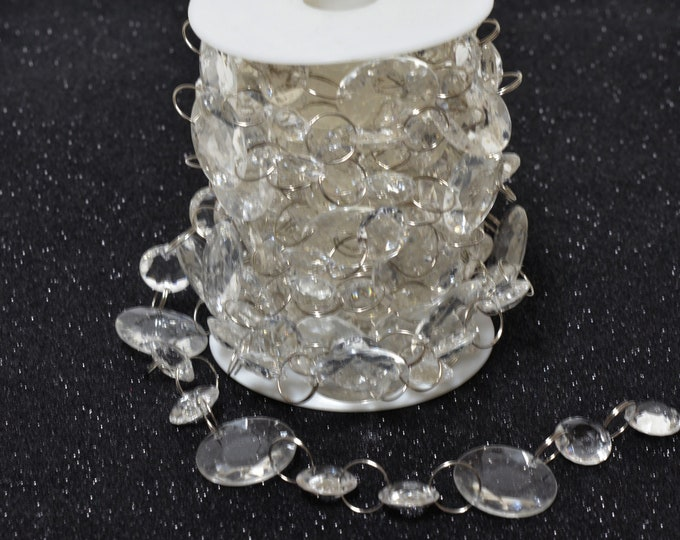 Acrylic Crystal Garland-Hanging Crystal Beads Decorations.