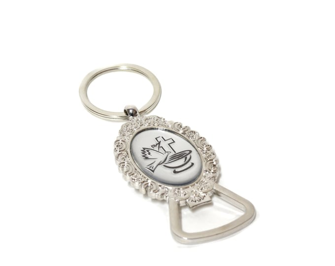 Holy Cup-Bottle Opener-Key Chain Christening Party Favor