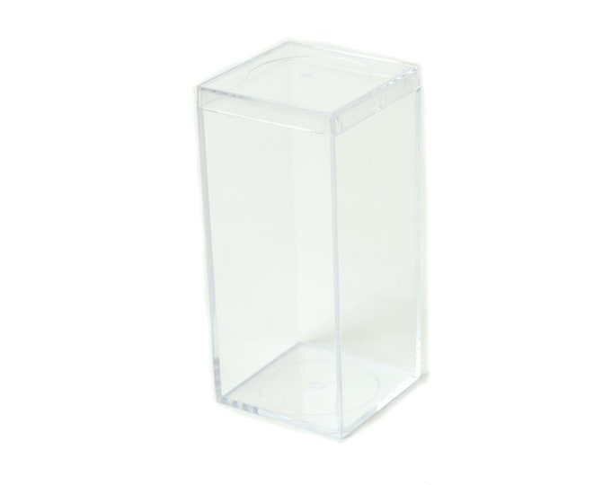 Clear Plastic Gift Box-Rectangle Boxes With Lid.